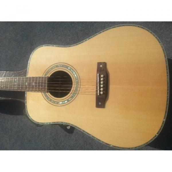 Custom Shop Fishman EQ Martin Sitka Solid Spruce Top D42 Acoustic Electric Guitar #1 image