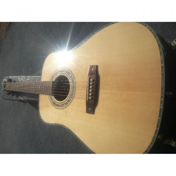 Custom Shop Fishman EQ Martin Sitka Solid Spruce Top D42 Acoustic Electric Guitar #2 image