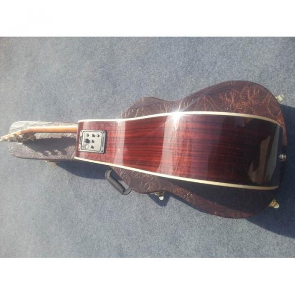 Custom Shop Fishman EQ Martin Sitka Solid Spruce Top D42 Acoustic Electric Guitar #3 image
