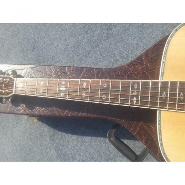 Custom Shop Fishman EQ Martin Sitka Solid Spruce Top D42 Acoustic Electric Guitar #5 image