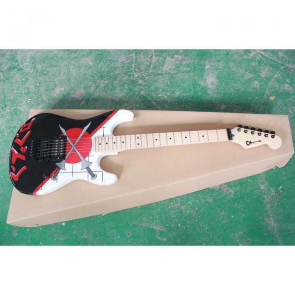 Custom Shop Charvel Warren De Martini White Electric Guitar #2 image