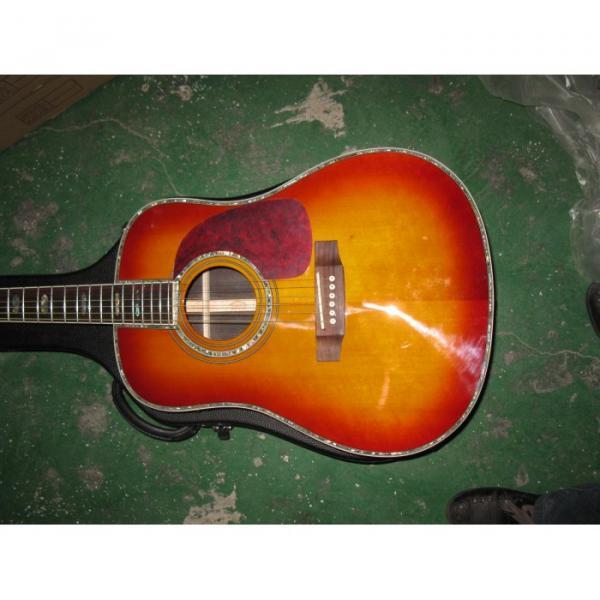 Custom Shop Dreadnought CMF Martin D45 Vintage Acoustic Guitar Sitka Solid Spruce Top With Ox Bone Nut & Saddler #1 image