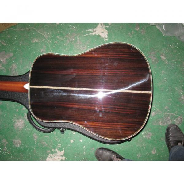 Custom Shop Dreadnought CMF Martin D45 Vintage Acoustic Guitar Sitka Solid Spruce Top With Ox Bone Nut & Saddler #2 image