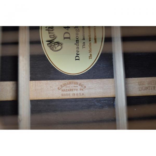 Custom Shop Dreadnought CMF Martin D45 Vintage Acoustic Guitar Sitka Solid Spruce Top With Ox Bone Nut & Saddler #3 image