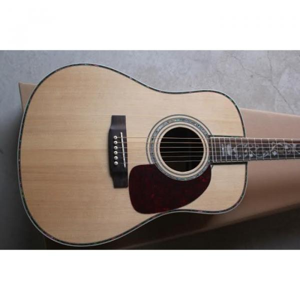 41 Inch CMF Martin Acoustic Guitar Sitka Solid Spruce Top With Ox Bone Nut & Saddler #1 image