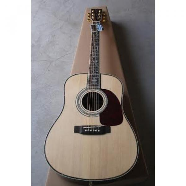 41 Inch CMF Martin Acoustic Guitar Sitka Solid Spruce Top With Ox Bone Nut & Saddler #3 image