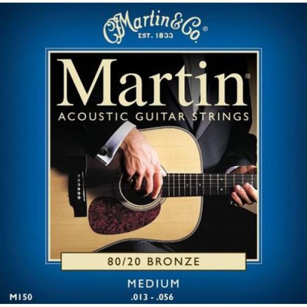 1 Martin M150 Medium .013-.056 Acoustic Guitar String #2 image