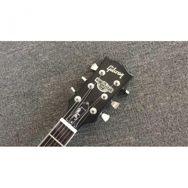 Custom Joe Perry Boneyard Pat Martino Caramel Brown Solid Veneer Top Electric Guitar #3 image