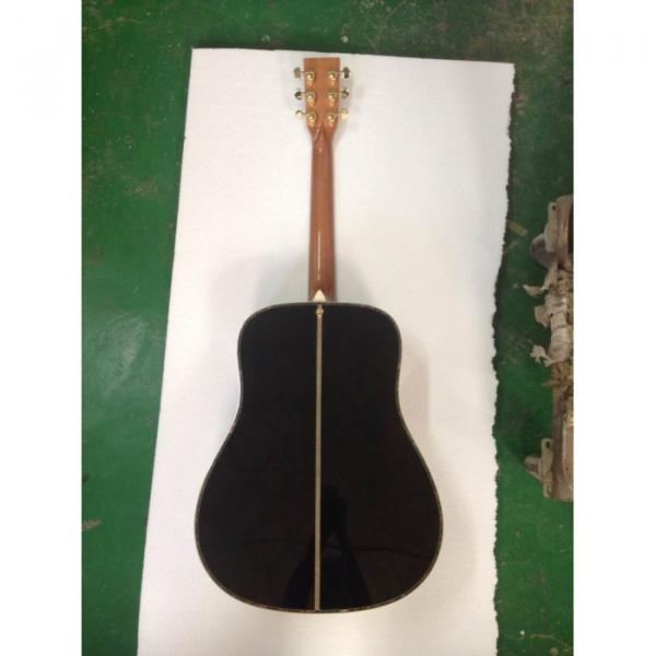 Custom 1833 Martin D45 Acoustic Guitar Sitka Solid Spruce Top Personalized Headstock #5 image