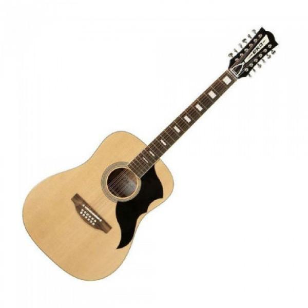 Superb New Eko Ranger 12 Vintage Re-issue Acoustic 12 String Guitar Zero Fret #1 image