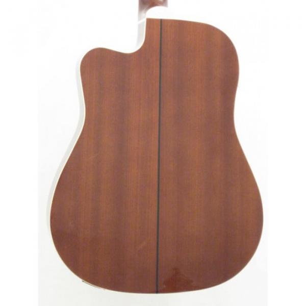 Oscar Schmidt OD312CE/TS Sunburst 12 String Electric Acoustic Guitar #5 image