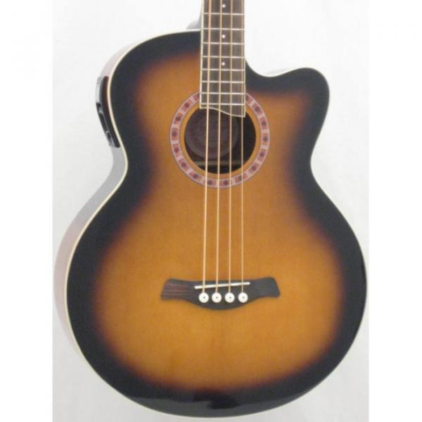 Jay Turser Model JTAB-650ATB Acoustic Bass Guitar #2 image
