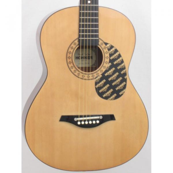 Hohner Model HW200 Concert Size Acoustic Guitar #4 image