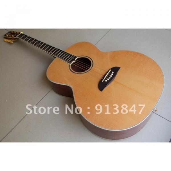 Custom Yairi Alvarez Baritone Acoustic Guitar #1 image
