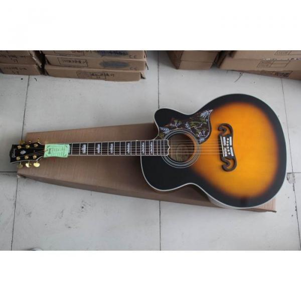 Custom Shop SJ200 Sunburst Acoustic Guitar #3 image