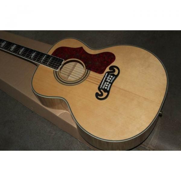 Custom Shop SJ200 Flame Maple Back Acoustic Electric Guitar Fishman EQ #1 image