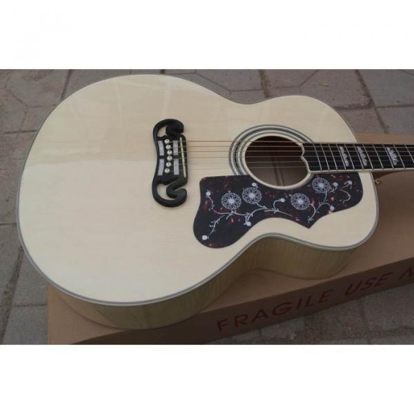 Custom Shop Pete Townshend J200 Natural Acoustic Electric Guitar #1 image