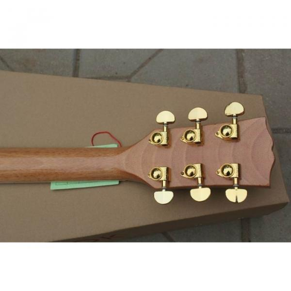 Custom Shop Pete Townshend J200 Natural Acoustic Electric Guitar #2 image