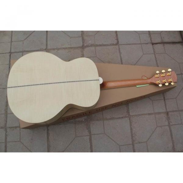 Custom Shop Pete Townshend J200 Natural Acoustic Electric Guitar #3 image