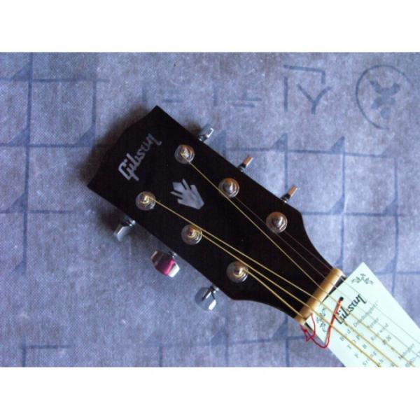 Custom Shop Hummingbird Dove Tobacco Acoustic Guitar #2 image