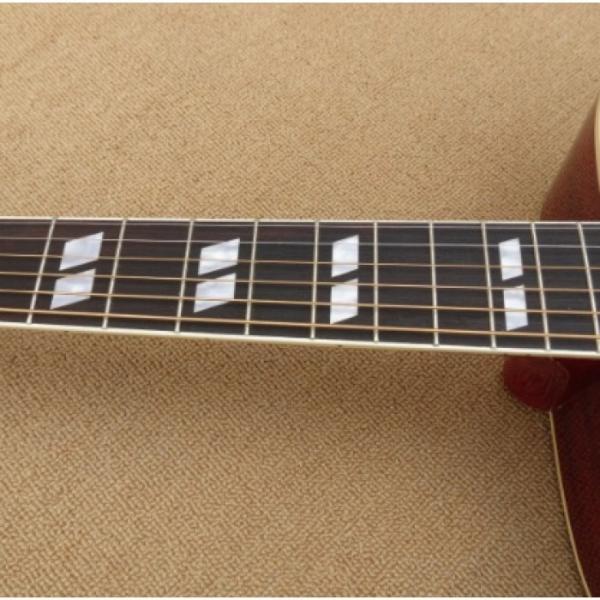 Custom Shop Dove Hummingbird Sunburst Acoustic Guitar J200 #2 image