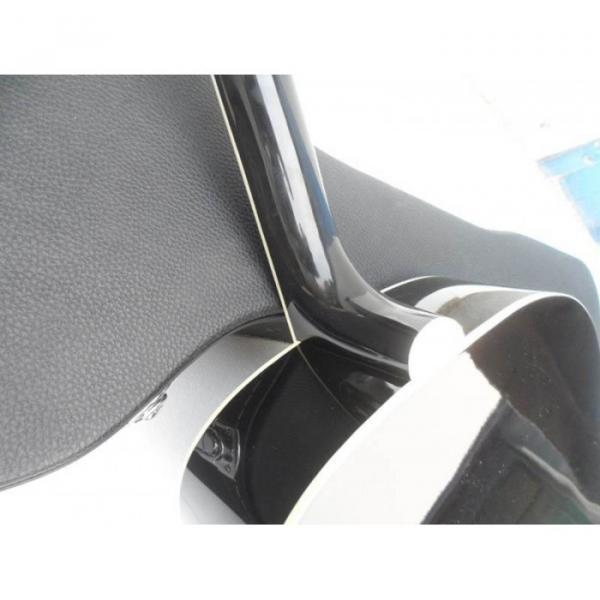 Custom Shop Dove Hummingbird Black Acoustic Guitar #4 image