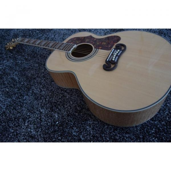 Custom 6 String J200 43 Inch Solid Spruce Top Acoustic Guitar #1 image