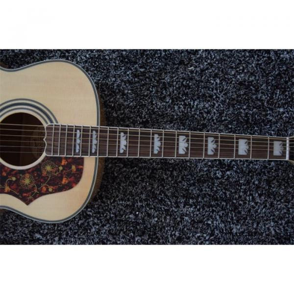Custom 6 String J200 43 Inch Solid Spruce Top Acoustic Guitar #5 image
