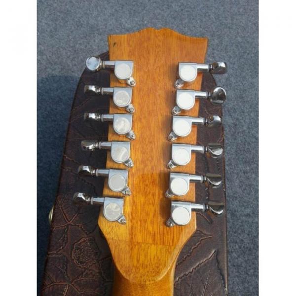 Custom J200 12 Strings Natural Acoustic Guitar #4 image
