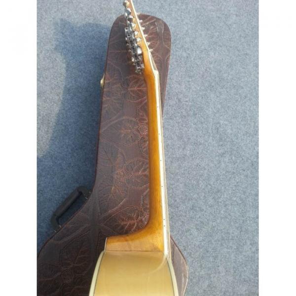 Custom J200 12 Strings Natural Acoustic Guitar #5 image
