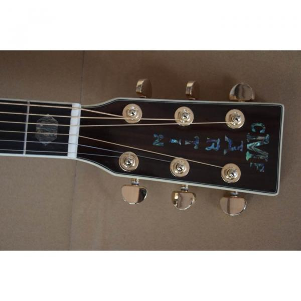 Custom D45 Acoustic Electric Guitar Natural Finish Sitka Solid Spruce #2 image