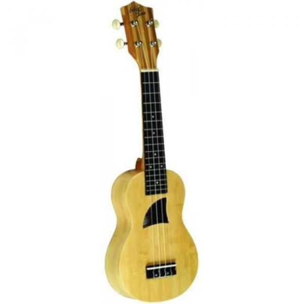 Brand New Eddy Finn Model EF-22-C Concert Size Acoustic All Bamboo Ukulele #1 image