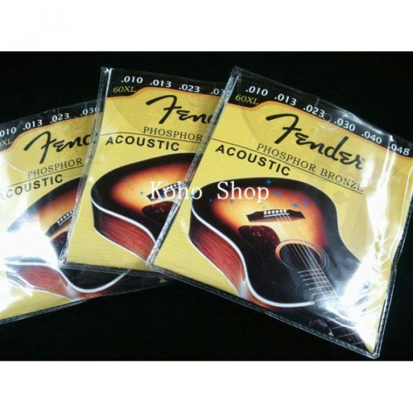 3 Sets Of Acoustic Guitar Strings 60XL #1 image