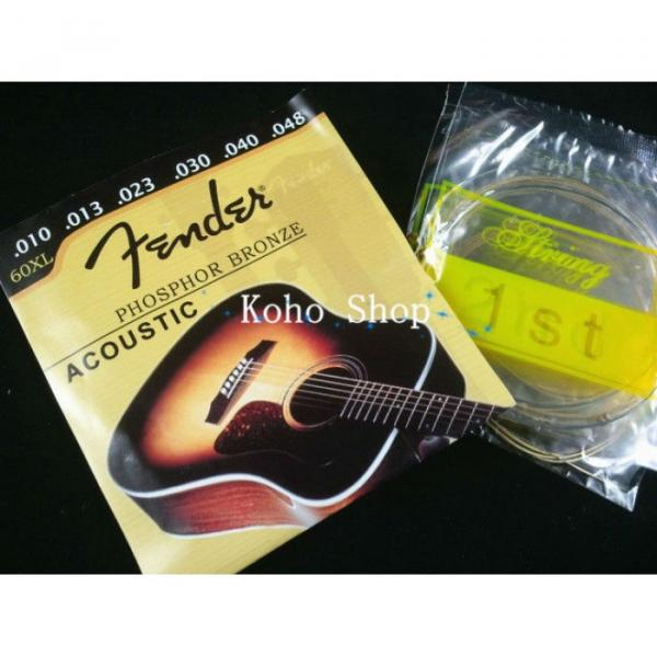 3 Sets Of Acoustic Guitar Strings 60XL #3 image