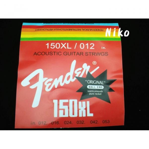 10 Sets/ Pack of New 150XL Acoustic Guitar Strings #3 image