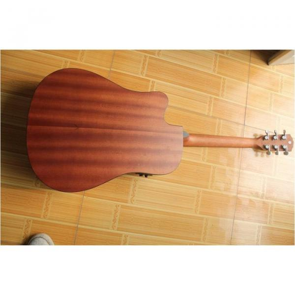 """Custom Cutaway 41"""" Acoustic Guitar Solid Spruce Top With EQ #3 image"""