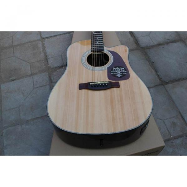 Custom Acoustic Electric Guitar Natural Finish CD280SCE #1 image