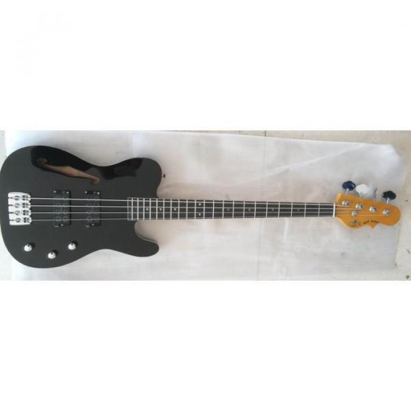 Project High Gloss Black Asat 4 String Bass #1 image