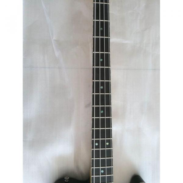 Project High Gloss Black Asat 4 String Bass #2 image