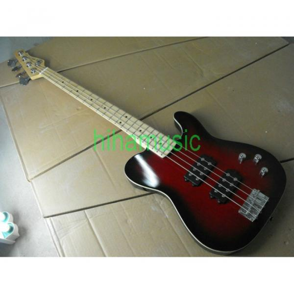 Red Asat 4 String Bass #4 image