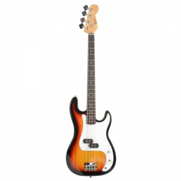 ISIN P-01 Electric Bass Guitar Sunset with Power Wire Tools #1 image