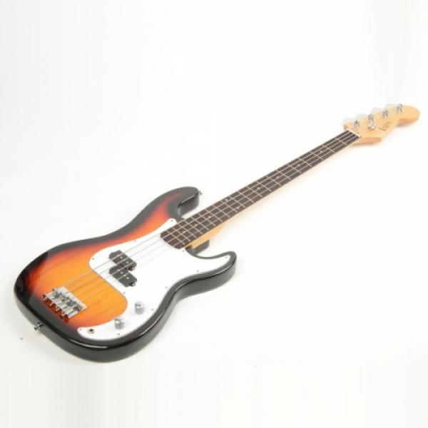 ISIN P-01 Electric Bass Guitar Sunset with Power Wire Tools #3 image