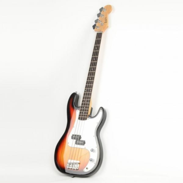 ISIN P-01 Electric Bass Guitar Sunset with Power Wire Tools #4 image