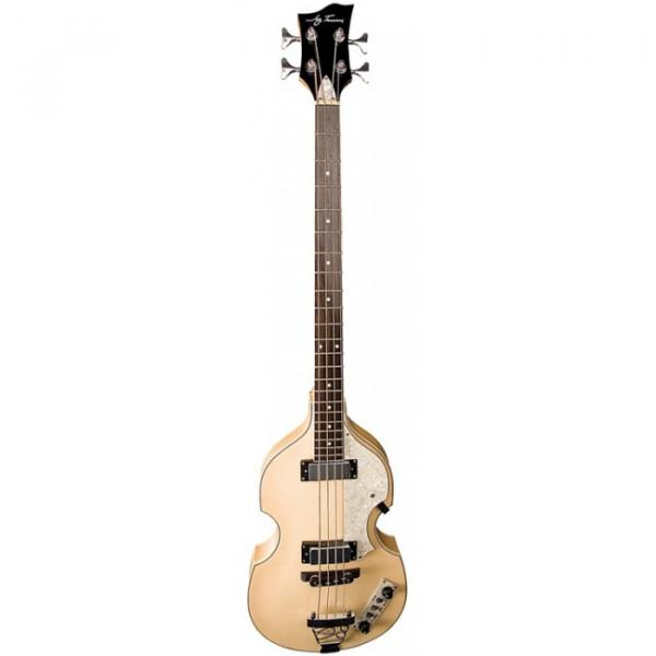 Jay Turser JTB-2B Series Electric Bass Guitar Natural #1 image