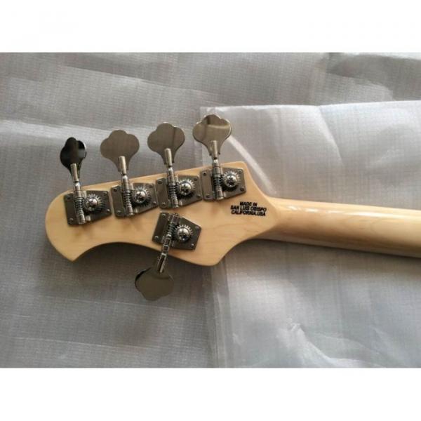 Custom Sunburst Music Man Ernie Ball Bass 9 V Battery Music Man S.U.B. Ray5 Passive Pickups #2 image