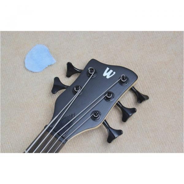 Custom Warwick 5 Strings Natural Electric Bass #2 image