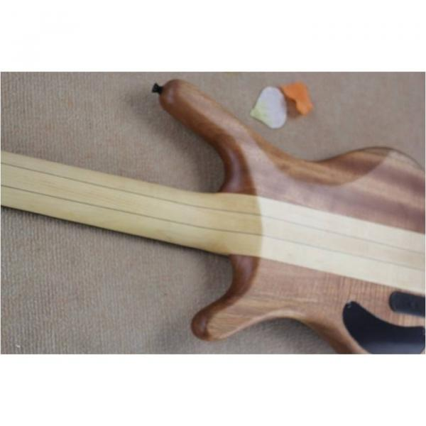 Custom Warwick 5 Strings Natural Electric Bass #3 image