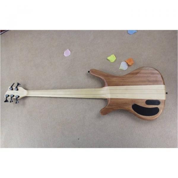 Custom Warwick 5 Strings Natural Electric Bass #4 image