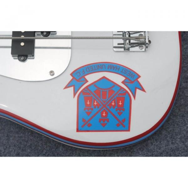 Custom Shop West Ham United White Precision Bass #3 image