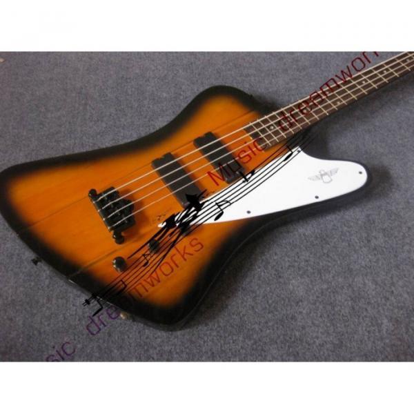 Custom Shop Thunderbird Sunsetburst Burst Electric Bass #3 image